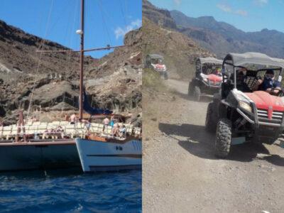 Combo catamara & buggy