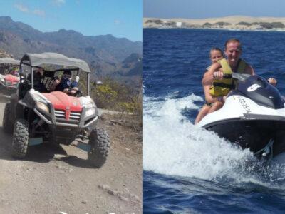 Combo buggy & jet ski